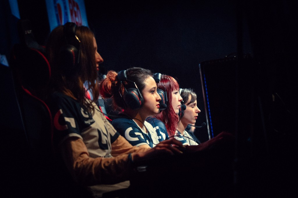First ESWC female championship of League of Legends at Paris Games Week 2015 in Paris.